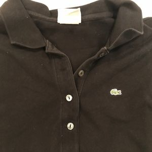 Lacoste Tops - Lacoste Polo Shirt Long Sleeve Cotton Stretch